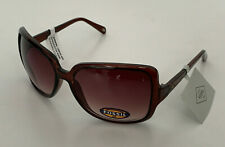 NEW! FOSSIL TORTOISE BROWN LADIES OVERSIZED FRAME SUNGLASSES SHADES SALE