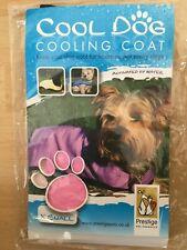 BNIP PRESTIGE PETS Cool Dog COOLING COAT size X SMALL (28cm) PINK ice jacket NEW