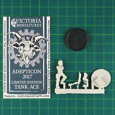 Female Tank Ace AdeptiCon 2017 Limited Edition Victoria Miniatures