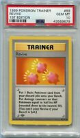 Pokemon Card 1st Edition Shadowless Revive Base Set 89/102, PSA 10 Gem Mint