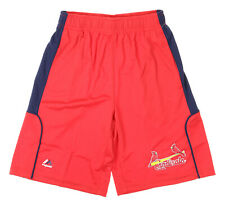 Majestic MLB Youth St. Louis Cardinals Batters Choice Shorts, Red