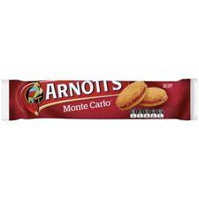 Arnott's Monte Carlo Biscuits 250g