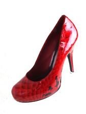 "Gianni Bini Heels Womens Size 9.M Red Platform 4.8"" Pumps Shoes"