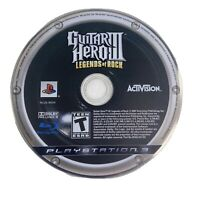 Guitar Hero III: Legends of Rock (Sony PlayStation 3, 2007) PS3 Disc Only