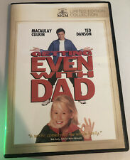 Getting Even With Dad (DVD Used Very Good) RARE Macaulay Culkin Ted Danson MGM