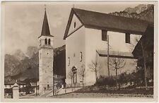 AURONZO - CHIESA PARROCCHIALE DI S.GIUSTINA (BELLUNO) 1933