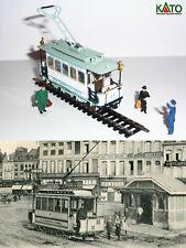 Motrice 13 tram Cambrai - 1907 HO/N gauge (HOe) - motorized figures KATO ATLAS