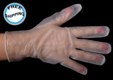 Vinyl Gloves for Food Service, Large, Clear, Powder Free, 1,000 (F10001750)