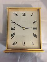President Golden Clock Swiss Free Shipping Untested!!!