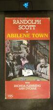 Randolph Scott In Abilene Town VHS