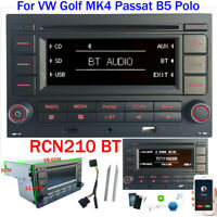 Autoradio RCN210 mit Bluetooth CD SD MP3 USB für VW Golf 4 MK4 Passat B5 Polo
