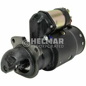 For Clark Forklift Starter 934026-NEW Straight Drive :Yes Gear Reduction No Volt