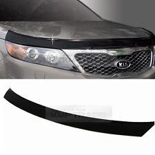 Smoke Emblem Black Front Hood Guard Bug Shield Molding for KIA 10-14 Sorento R