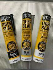 Upol Tiger Seal Black,Grey,White Pu Adhesive Glue Sealant CAR TRIM STRONG WINDOW