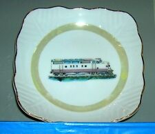 railroad-themed ashtray/coin tray made in JAPAN  F-7, F-8?