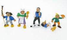 Bully - Max und Moritz, Witwe Bolte, Lehrer Lempel - 5x Comic Figuren 1980