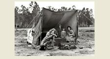 1936 Migrant Mother in Tent Great Depression PHOTO Dust Bowl Farm California