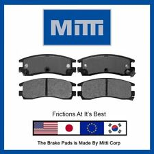 4Pc Rear Disc Brake Pad Set For Pontiac Grand Am, Grand Prix Montana Trans Sport