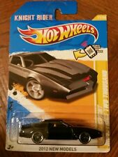 HOT WHEELS 2012 NEW MODELS K.I.T.T. INDUSTRIES TWO THOUSAND KNIGHT RIDER 2012