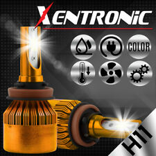 XENTRONIC H11 H9 H8 1020W 153000LM LED Headlight Conversion Fog Bulbs 6000K HID