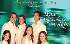 Ikaw ang Lahat Sa Akin Complete Set Filipino TV Series DVD teleserye
