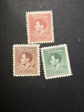 New Guinea 1937.  **. King George VI Coronation . Stamps.  MLH .