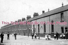 YO 74 - Clay Lane Row, South Bank, Middlesbrough, Yorkshire c1906 - 6x4 Photo