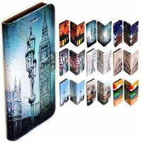 For OPPO Series - Capital City Landmark Print Wallet Mobile Phone Case Cover #2