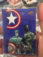 2018 Upper Deck Black Panther Sketch Cards #SKT Christina Charbali Capt America