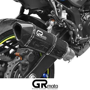 Exhaust for Suzuki GSR 750 GSX-S 750 2011 - 2021 GRmoto Muffler Carbon
