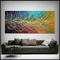 Multicolored abstract painting - Jackson Pollock Style, Contemporary wall art