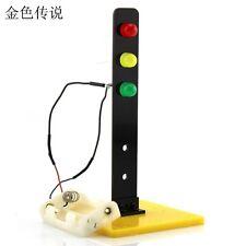 Children Traffic Lights Building Toys DIY Kids Assembled Educational Experiment