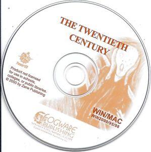 The 20th Century, PC & MAC CD (Fogware children learn fun study)