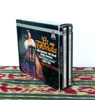 Verdi, La Traviata - Made in Germany, 1992 - 2 x CD Set - Libretto - NM
