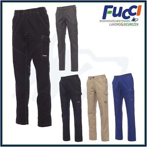 Pantaloni da Lavoro Multistagione Invernali Payper Outlet 100% Cotone Uomo Donna