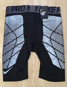 NIKE PRO HYPERSTRONG MENS SLIDER SHORTS TRAINING TIGHTS With Tags SIZE 2XL