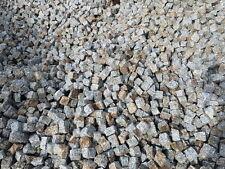 Neues Granitpflaster aus Striegau 7 x 9 grau-rost Sonderpreis  69 €* pro 1 Tonne