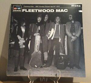 Fleetwood Mac - BBC Sunday Concert April 9th 1970 LP Rock Vinyl Peter Green