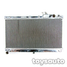Rev9 2 Row Aluminum Radiator for Miata MX5 MX-5 90-97 NA6C NA8C Manual + 2x Fan