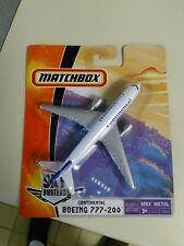 Matchbox Continental Boeing 777-200 Metal Plane Unopened