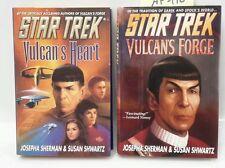 """Star Trek """"Vulcan"""" Series Hardcover Book Set of 2-"""