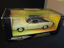 American Muscle Ertl Collectibles 1969 Dodge Charger R/T 1:18