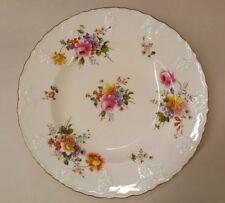 "2 Luncehon Plates 8-1/4"" Royal Crown Derby DERBY POSIES VINE SHAPE"