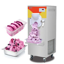 Kolice Free Standing Gelato Hard Ice Cream Machine Ice Cream Maker Batch Freezer