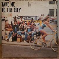 Take Me To the City Vinyl LP 1981 Fostoria Ohio Power Pop Moseka Records
