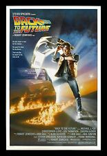 BACK TO THE FUTURE ✯ CineMasterpieces ORIGINAL MOVIE POSTER ROLLED NM-M 1985