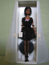 2002 Lingerie #5 African-American Silkstone Fashion Model Barbie #56120 NRFB .
