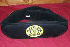 Gold's Gym Weightlifting Belt Size Small Medium S M Nylon Barbell Weight Lifting