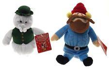 Rudolph The Red Nosed Reindeer Sam Snowman Yukon Cornelius Plush Set Misfit Toys