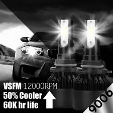 2-sided 9006 HB4 1020W 153000LM COB LED Headlight Kit Light Bulbs 6000K vs HID